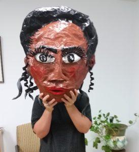 Viola Desmond Puppet